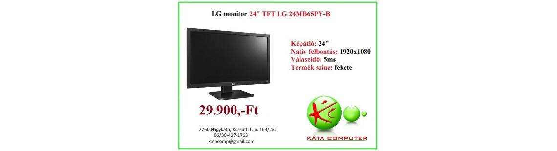 "LG 24MB65PY-B 24"" TFT monitor"